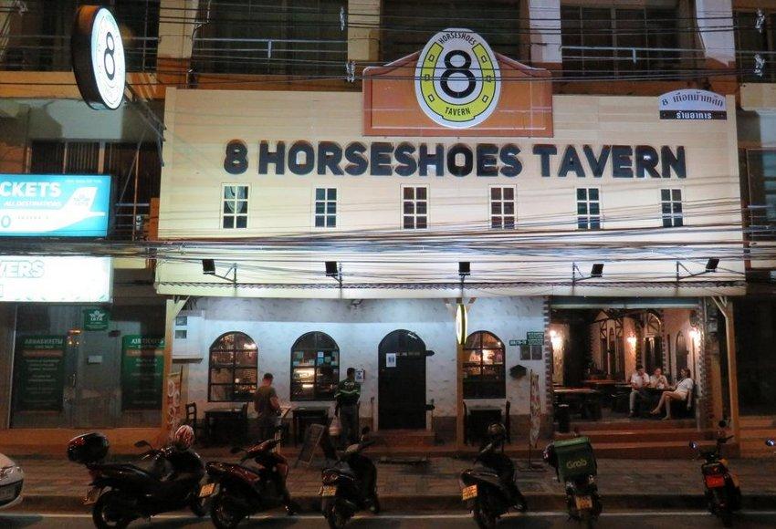 Фасад ресторана - Вечер